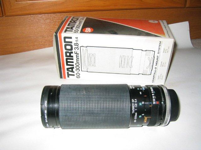 Tamron 60-300mm lens