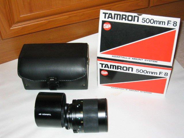 tamron 500mm lens