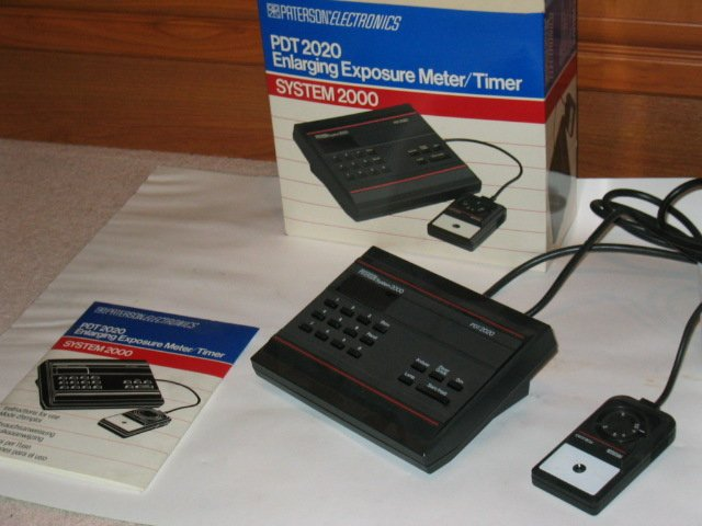 PATERSON ENLARGER METER/TIMER SYSTEM 2000